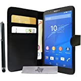 Etui Housse Luxe Portefeuille Sony Xperia E4g + STYLET et 3 FILM OFFERT!!