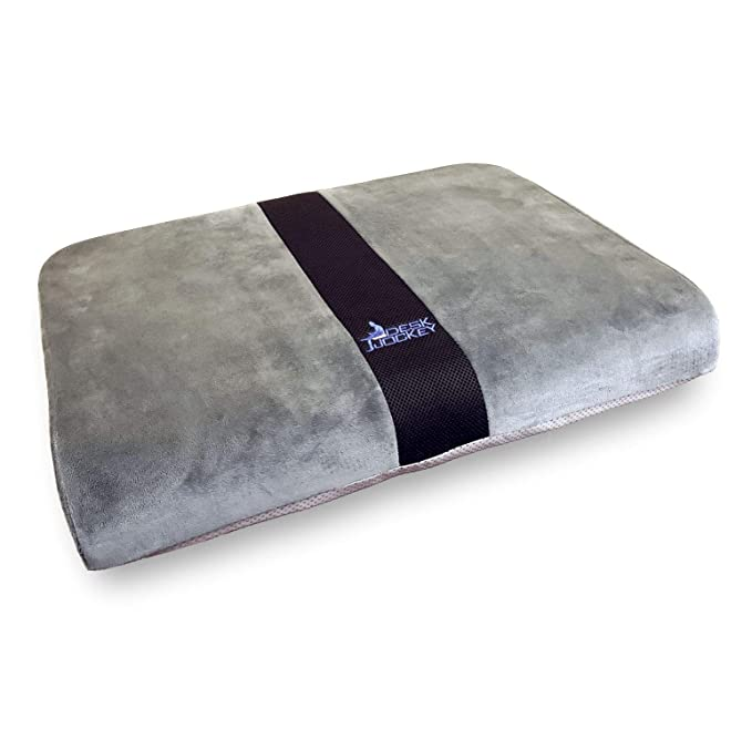 Desk Jockey Seat Cushion for Extra Wide Wheelchairs & Office Chairs - Full 25 Inches Wide - Clinical Therapeutic Grade Orthopedic Sitting Pad - Users ...
