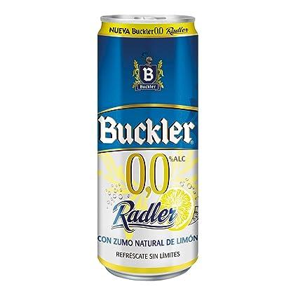 Buckler 00 Radler Limón Cerveza Lata - 330 ml