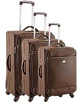 Set de 3 valises chariot 4 roues smart pvc I