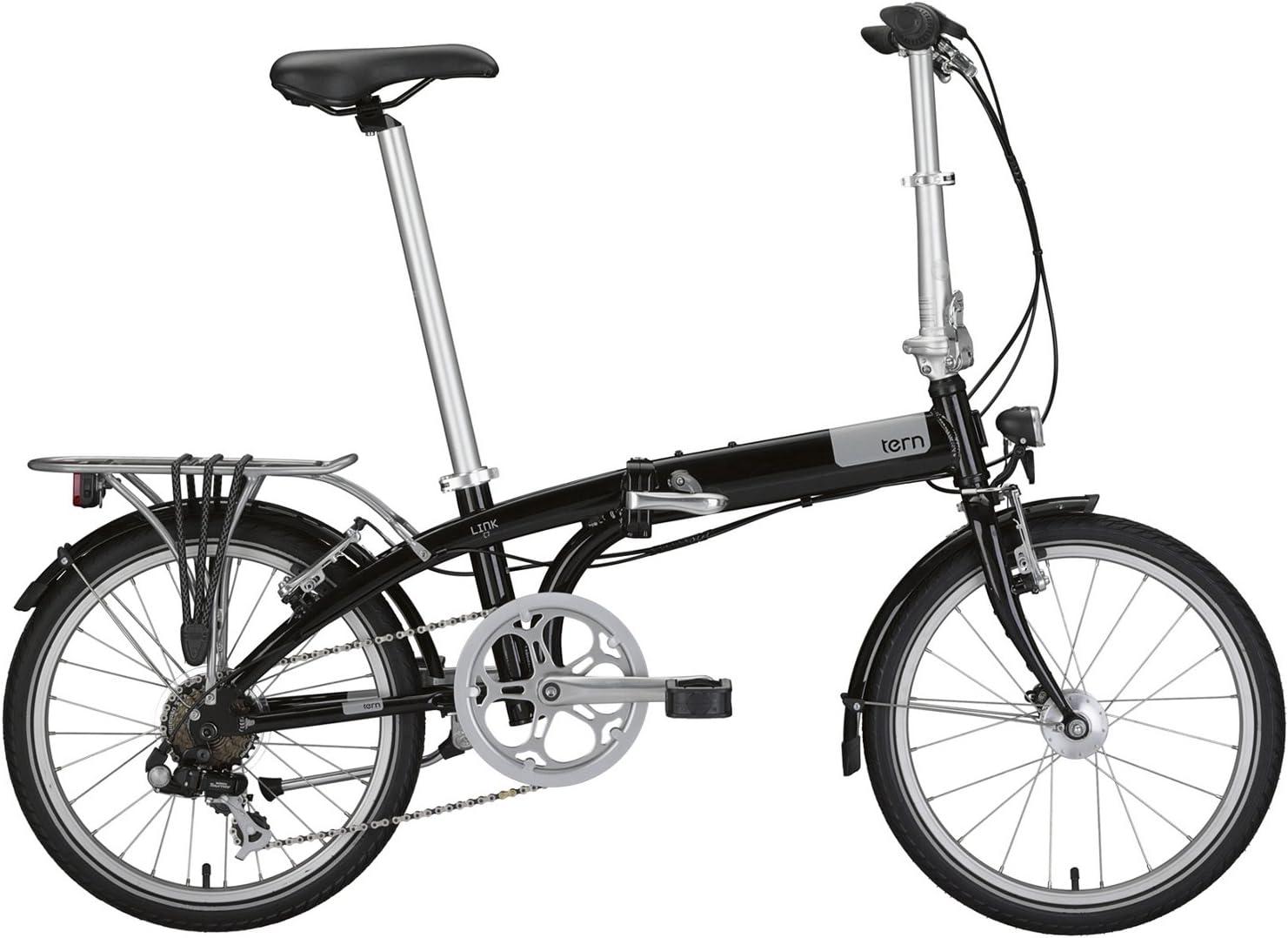 Bicicleta plegable tern Link negro 2015: Amazon.es: Deportes y ...