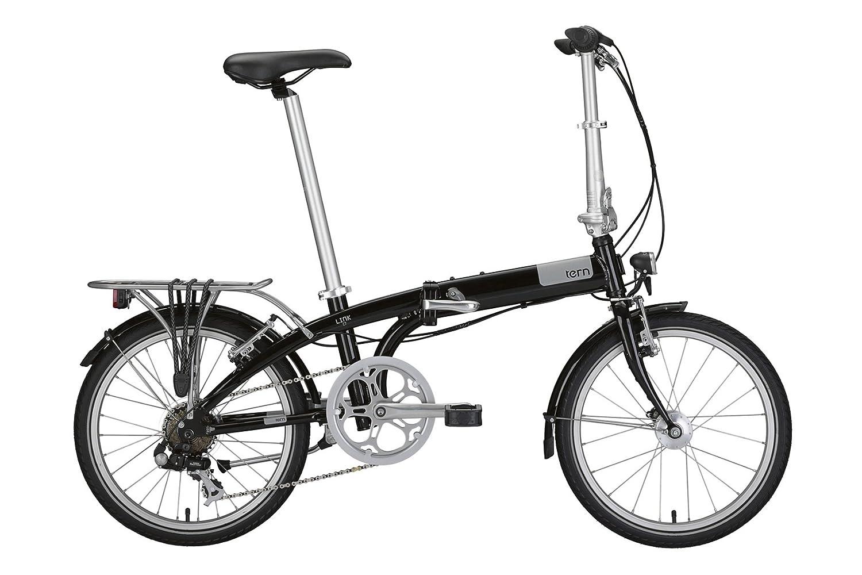 Bicicleta plegable tern Link negro 2015: Amazon.es: Deportes y aire libre