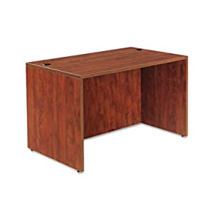 Alera VA214830MC Valencia Series 48 by 30 by 29-1/2-Inch Desk Shell, Medium Cherry