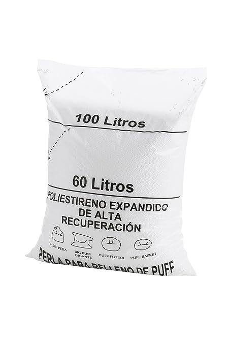 Textilhome - Relleno para Puff de Bolas (Perlas) 200 litros ...
