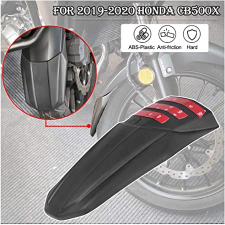 Fatexpress Cb500x Zubehör Motorrad Motorrad Vorderrad Reifen Hugger Kotflügel Kotflügel Extender Verlängerung Für Honda Cb 500x 2019 2020 19 20 Auto