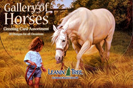 Amazon gallery of horses greeting card assortment by leanin gallery of horses greeting card assortment by leanin tree ast90611 20 m4hsunfo