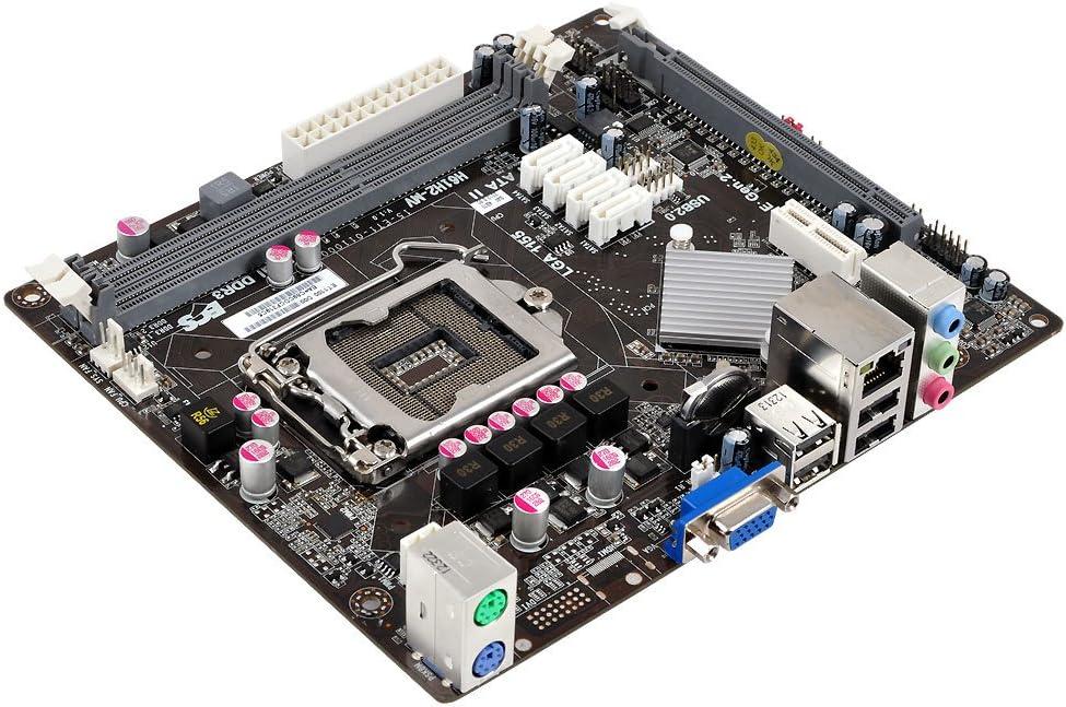 ECS Elitegroup H61H2-MV (V1.0) - Placa Base (DDR3-SDRAM, DIMM, 1066,1333,1600 MHz, Dual, 16 GB, Intel): Amazon.es: Informática