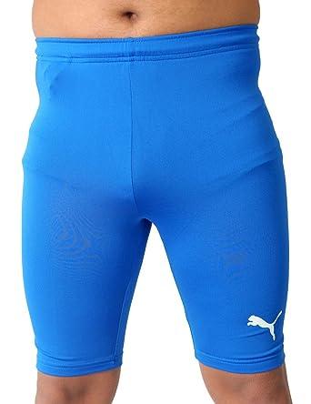 Puma Men's Tight Shorts Royal Blue: Amazon.co.uk: Clothing
