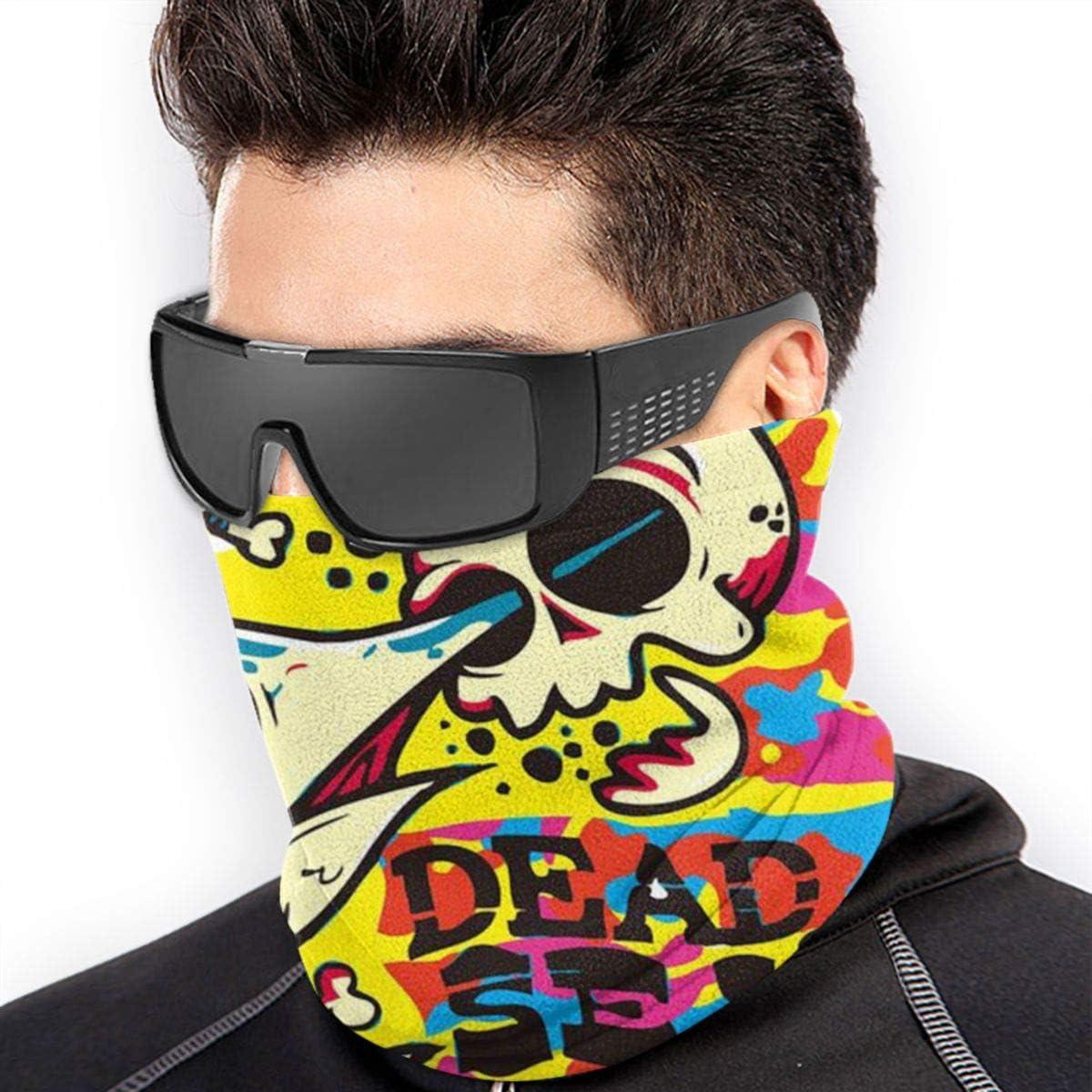 Motorcycle Face Bandana for Women Men Face Scarf SAMEFAR Unisex Seamless Rave Bandana Neck Gaiter Tube Headwear Bandana