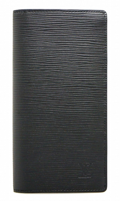 [ルイ ヴィトン] LOUIS VUITTON エピ ポルトフォイユ ブラザ 2つ折長財布 レザー ノワール 黒 ブラック 新型 M60622 B076LHT97R