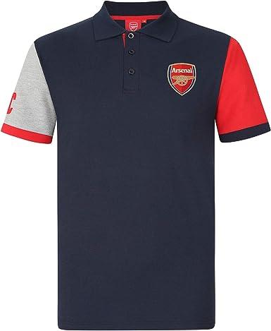 Arsenal FC - Polo oficial para hombre - Con el escudo del club: Amazon.es: Ropa y accesorios