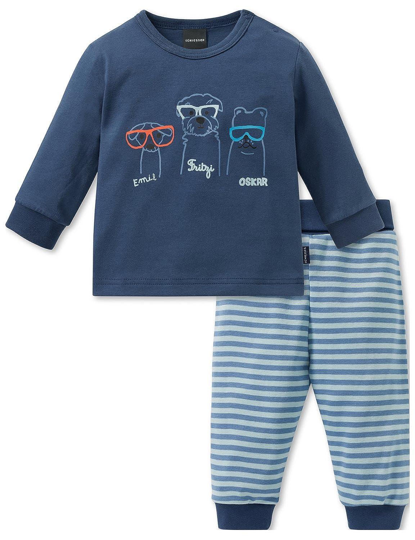 Schiesser Baby-Jungen Zweiteiliger Schlafanzug 163397
