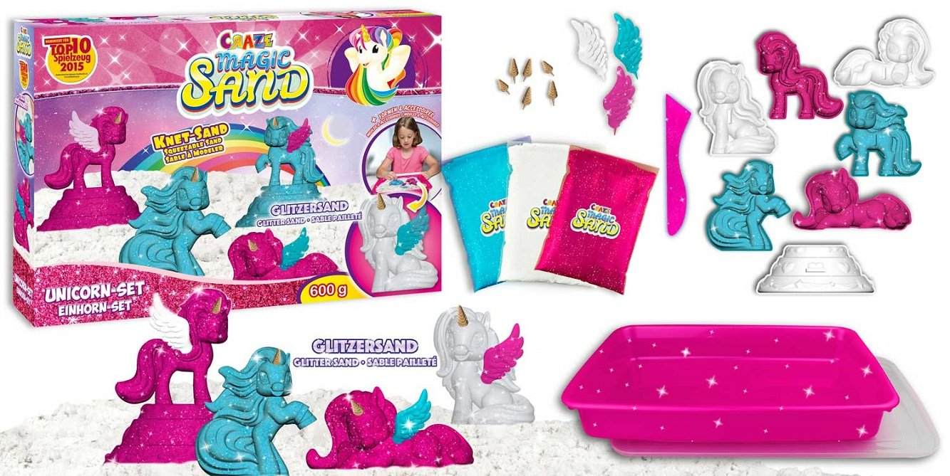 CRAZE Magic Sand Box Unicorn