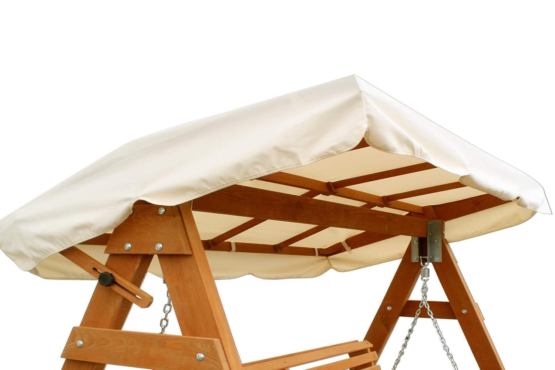 Hollywoodschaukel holz  Amazon.de: Ersatzdach für Hollywoodschaukel aus Kiefernholz 110 x ...
