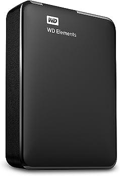 Western Digital Elements 4TB USB 3.0 Portable Hard Drive