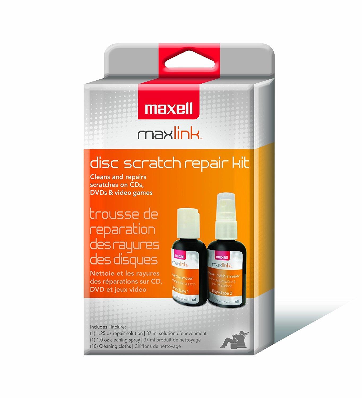 Maxell CD/CD-ROM Scratch Repair Kit 3-Pack