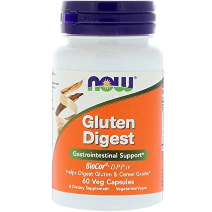 Gluten Digest, 60 vcaps - Now Foods: Amazon.es: Salud y ...