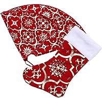 BESPORTBLE Kerstboom Rok Kit Sneeuwvlokken Patroon Kerstboom Mat Kerstsok Onder Boom Cadeau Organizer Voor Thuis Feest…