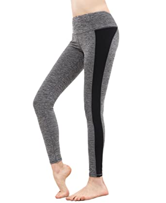 Amazon.com: Yoga Pants High Waist Compression Leggings Workout ...