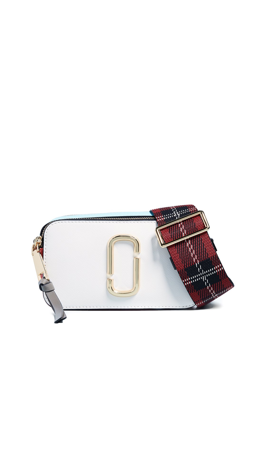 Marc Jacobs Women's Snapshot Camera Bag, Porcelain, White, One Size