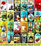 Tintin Comics Books Series Set - A Collection of 24 Hardcover Big Size Titles