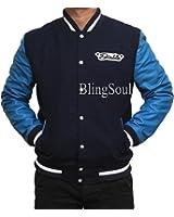 Jay Squad Blue Varsity Jacket