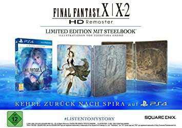 Final Fantasy X/X-2 HD Remaster Limited Edition (PS4) (PEGI ...