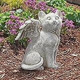 Design Toscano Loving Friend Memorial Pet Cat Statue