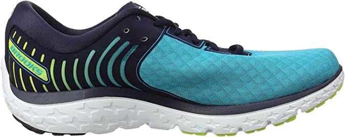Brooks Pureflow 6, Zapatillas, Mujer, Multicolor (Bluebird/peacoat/limepunch), 42.5 EU: Amazon.es: Zapatos y complementos