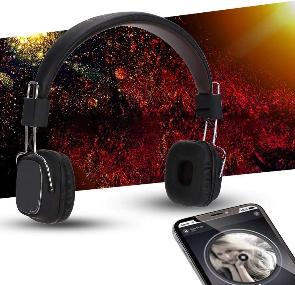 iOS Smartphone 3.5mm Jack Wired Stereo Music Headphones with HD Microphone Gaming Overear Headphones for Computer Ciglow Gaming Headset Android.