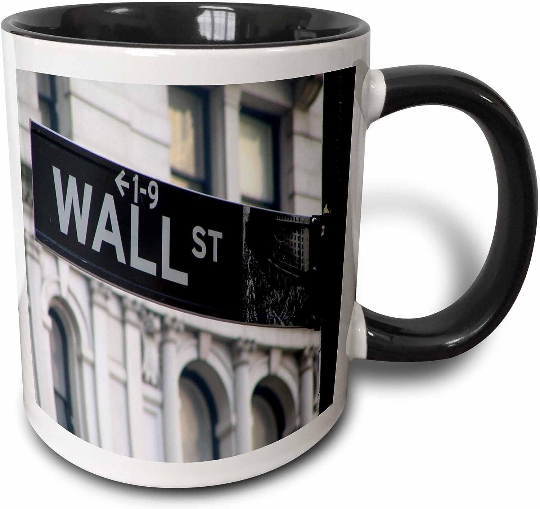 "2x Length Matters 8/"" Tall Coffee Tea Black White Mug with Spoon COFFEE MUG BLACK"