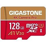 Gigastone Tarjeta de memòria Micro SDXC de 128GB, Grabación de 4K vídeo, Alta Velocidad de 4K UHD (UHS-I A1, Clase 10…