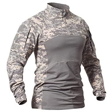 Novelty & Special Use Military Military Uniform Combat Shirt Men Assault Tactical Camouflage Us Army T Shirt Long Sleeve Tops Male Outdoor Training Clothes