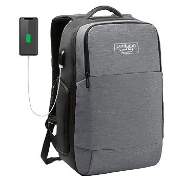 c479c839998e ビジネスリュック メンズ 軽量 防水 pc リュック 15.6インチPC対応パソコンバッグ USBポートと