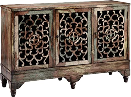 Stein World Furniture Ruskin Cabinet, Multi Color