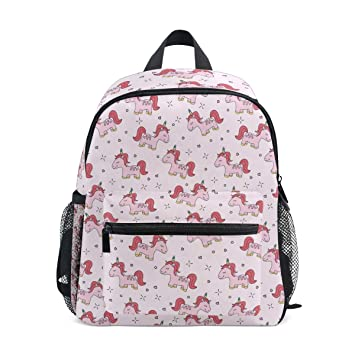 6d6cb85be Amazon.com | Funny Unicorn And With Cupid Love Red Fashion Kids Printing bag  Travel Children Backpack | Kids' Backpacks