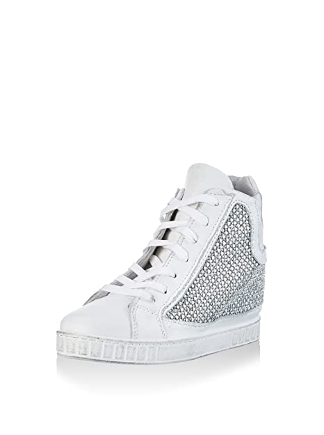 CAFèNOIR Zapatillas de Cuña QEM110 Blanco EU 40: Amazon.es: Zapatos y complementos