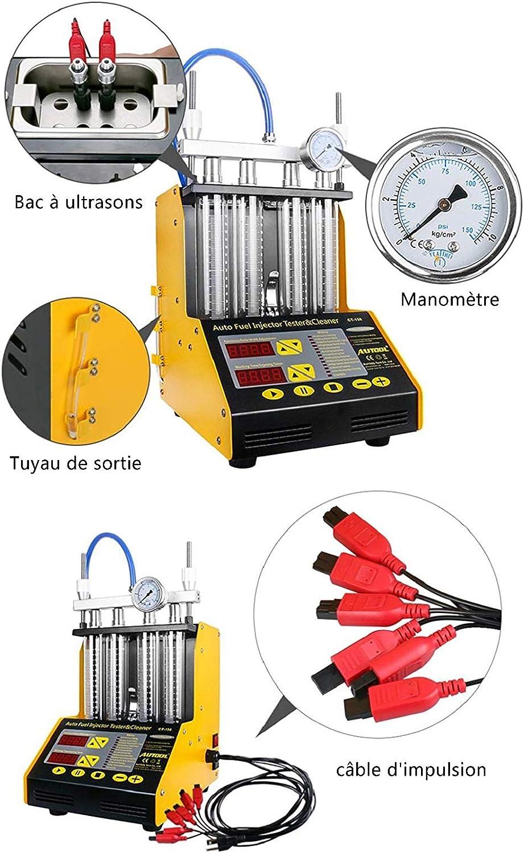 2 pi/èces C/âbles d/'Adaptateur pour Auto Nettoyeur Injecteur CT150 CT200 Testeur Pi/èces Connecteurs de Diagnostic de Voiture