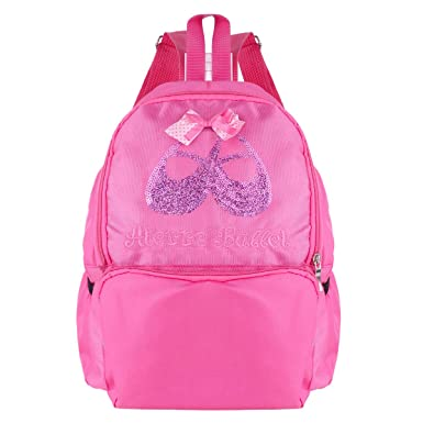 YiZYiF Mochila Infantil Para Deporte Escolor Viaje Bolsa de Ballet Para Niña Rosa Oscuro Talla Única: Amazon.es: Ropa y accesorios