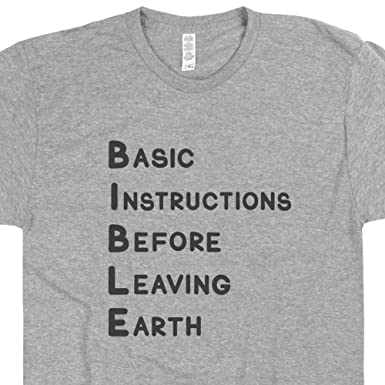 Amazon Bible T Shirts Cool Christian Shirts Basic Instructions