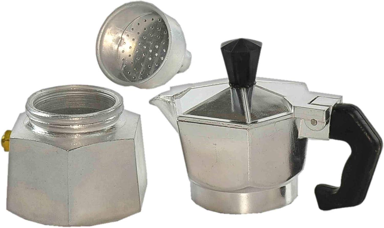 Cafetera cubanyta aluminio 12 taza: Amazon.es: Hogar