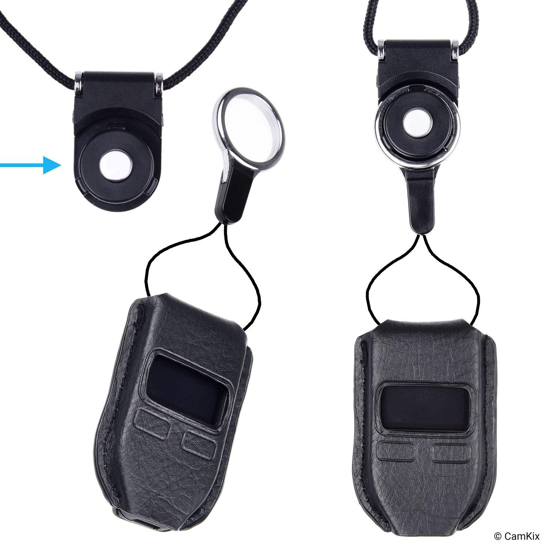 Camkix® 2X Estuche Protector para Trezor Bitcoin/Billetera Criptomoneda + 2X con Conector Desmontable – Ajuste a Medida, diseñado específicamente para ...