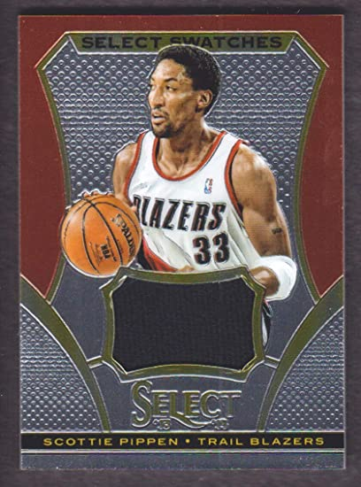 info for 53f47 2b6ca 2013-14 Select Basketball Swatches Jersey #43 Scottie Pippen ...