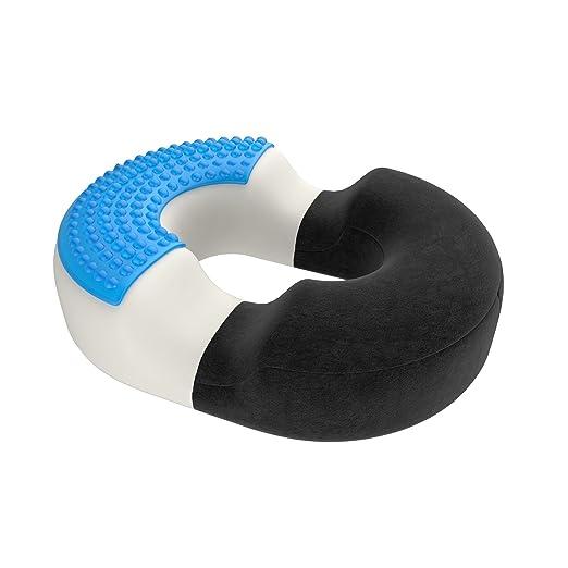 162 opinioni per bonmedico® XL cuscino ortopedico rotondo (a ciambella) con innovativo cuscinetto
