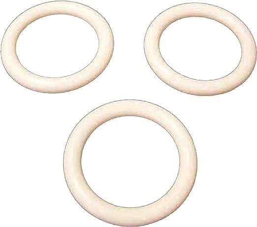 "48 Napkin Rings plastic acrylic 1.75/"" diameter Clear"