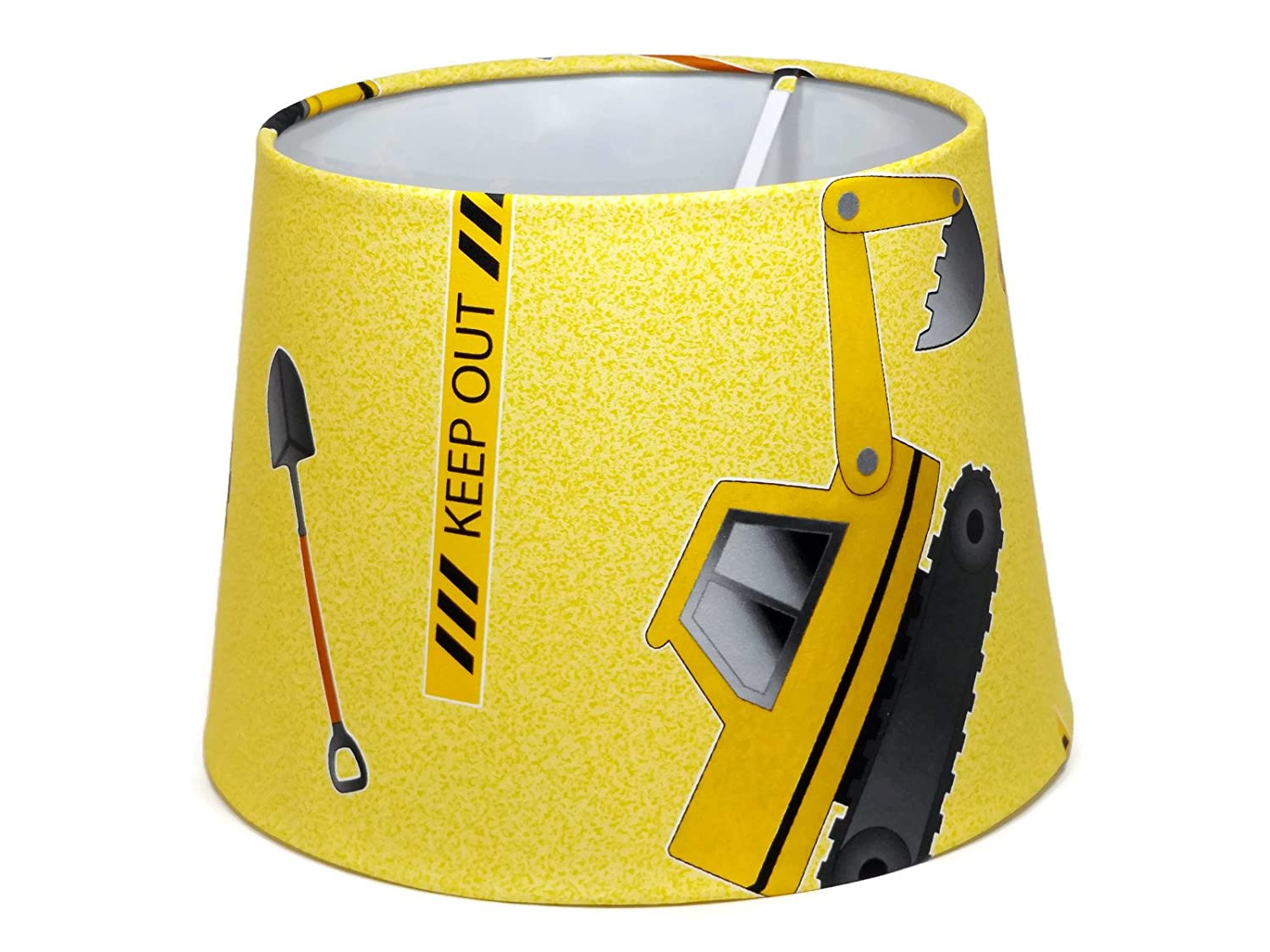 Digger Construction Lampshade or Ceiling Light Shade 95 DUAL