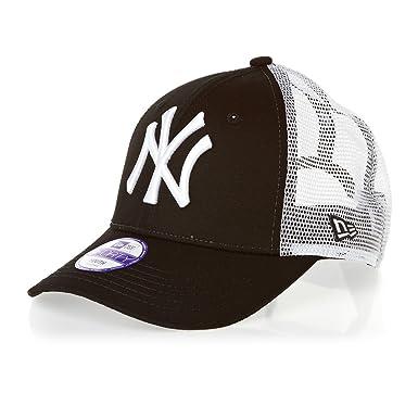 New Era 9Forty Trucker KIDS YOUTH Cap - NY Yankees black  Amazon.co ... 78c502140cdd
