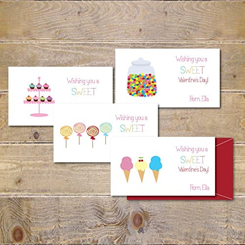 Amazoncom Valentines Cards Kids Children School Class From