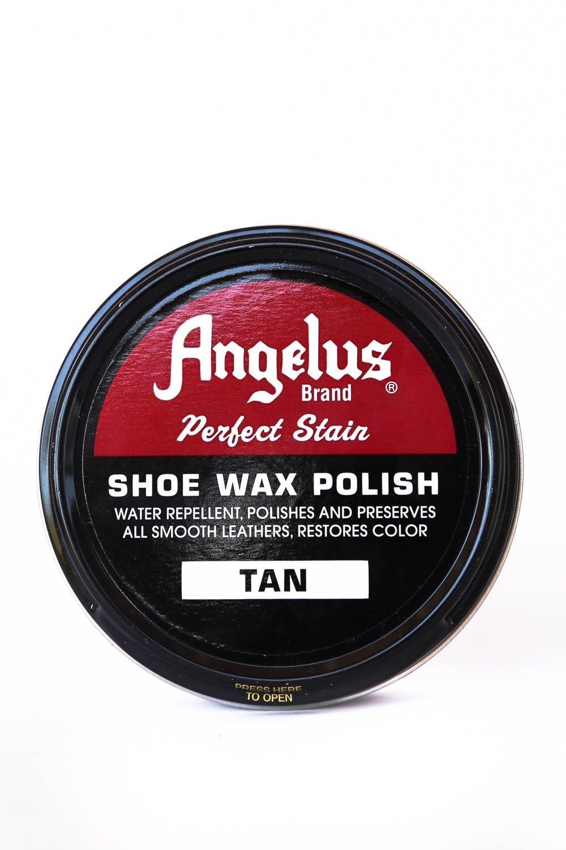 Angelus Wax Polish Tan