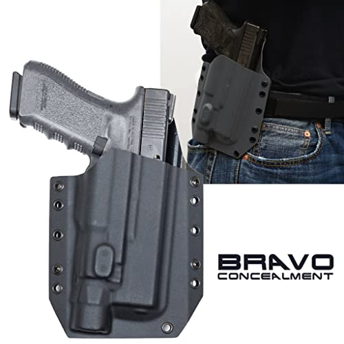 Bravo Concealment Outside The Waistband BCA Light Bearing Gun Holster